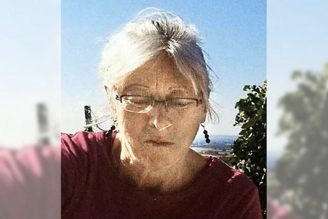 Polizei sucht vermisste Frau aus Auggen