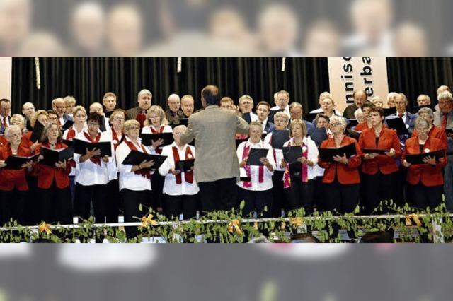 Gesangverein stolz auf das Geleistete