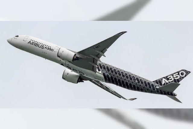 Airbus im Steigflug