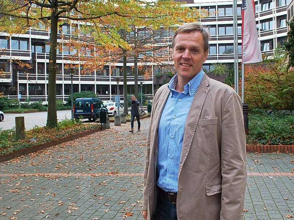 Neuerdings wieder Landratsämtler: der bisherige Bundestrainer Martin Heuberger  | Foto: hrö