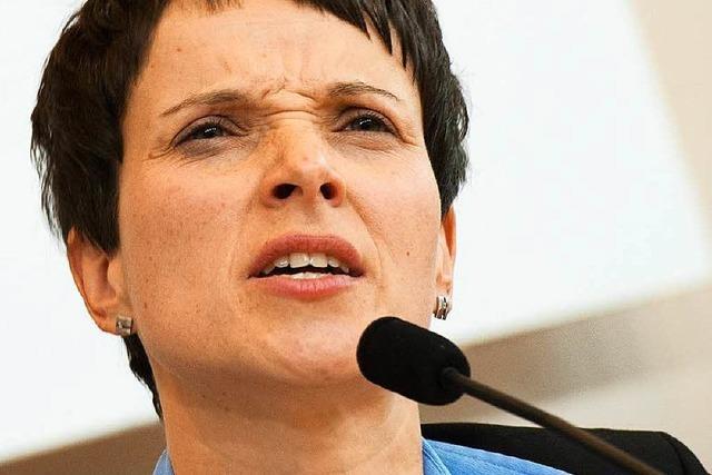 Frauke Petry in Breisach: Ausgrenzen ist die falsche Strategie