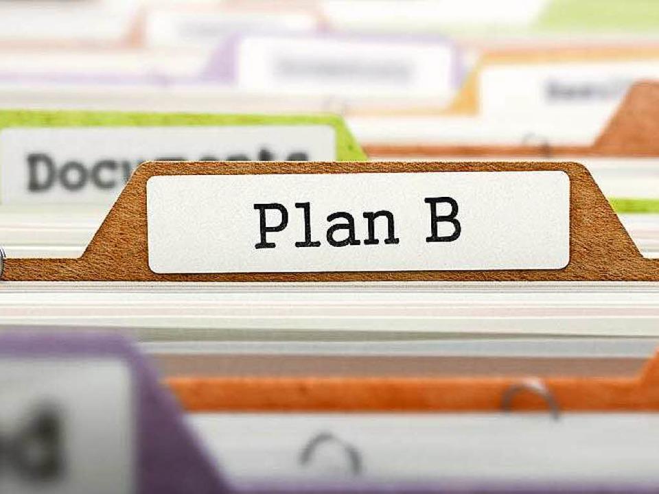 Wenn Plan A nicht geklappt hat, muss ein Plan B her.  | Foto: © tashatuvango