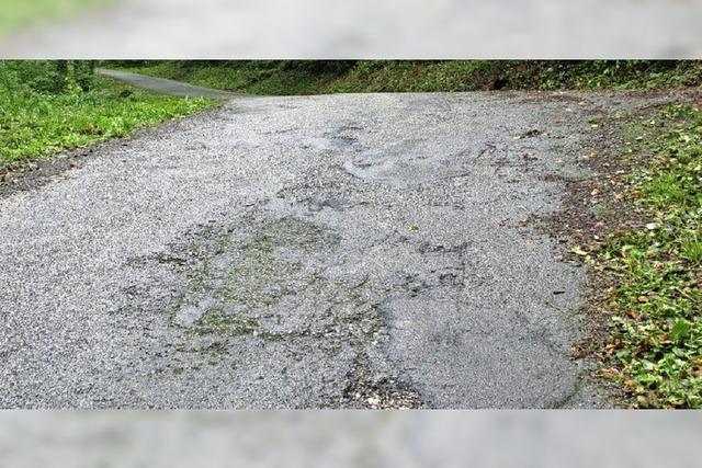 Sanierung von Straßen geht weiter