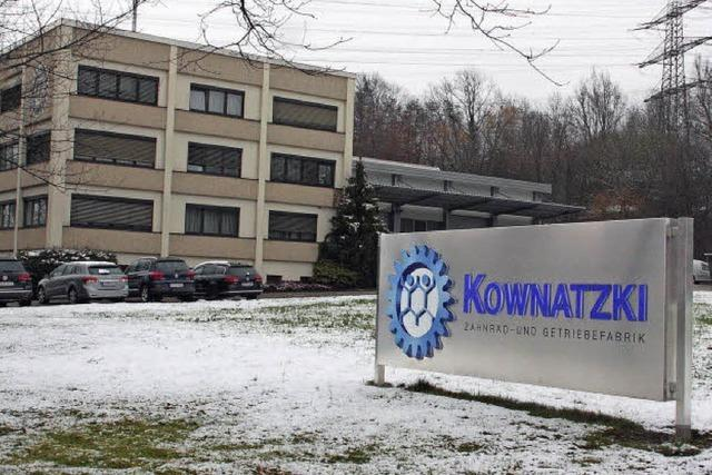 Die Firma Kownatzki ist insolvent
