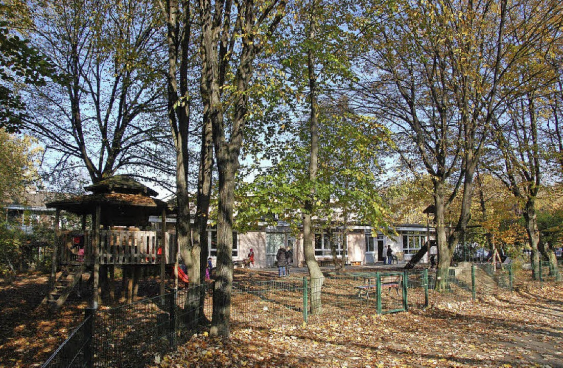 Auf dem Gelände rund um das früheren K...auses Arche entstehen 52 Wohnungen.     | Foto: LAUBER