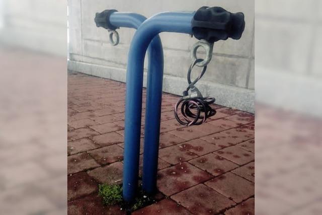 Sichere Parkplätze für Fahrräder