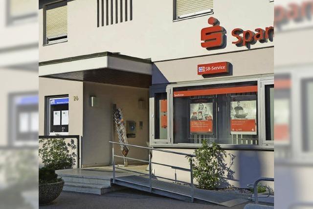 Wandel zur SB-Sparkasse