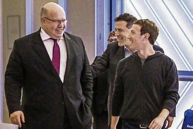 Facebook-Chef will deutsches Recht achten