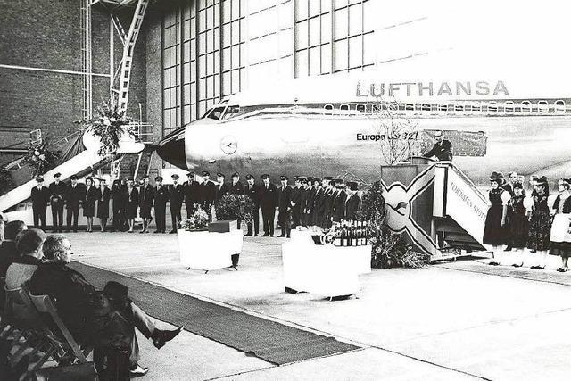 Vor 50 Jahren wurde eine Lufthansa-Maschine auf den Namen