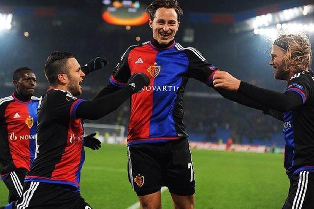 Tor in 92. Minute: FC Basel mit Bibbersieg eine Runde weiter