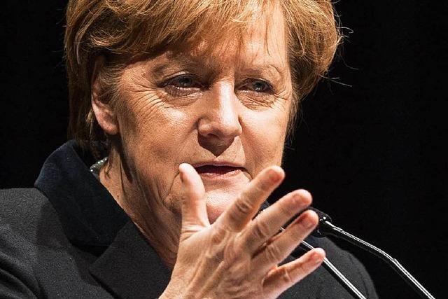 Drei Demos, wenn Merkel nach Freiburg kommt