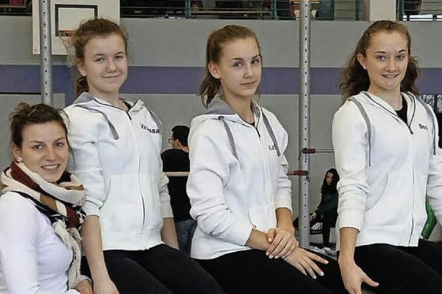 Turnerinnen qualifizieren sich für das Landesfinale