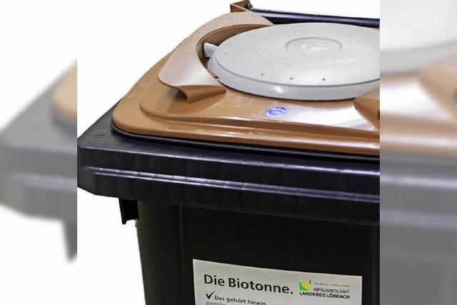 9000 Biotonnen werden verteilt