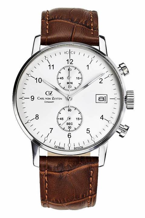 Diese Uhr trägt den Namen des angeblic...hrenmachers, der aber nie existierte.   | Foto: Repro: Brichta