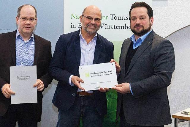Nachhaltigkeitssiegel für den Hochschwarzwald