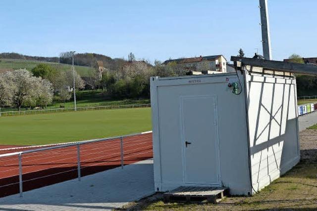 Sportheim: Im Juni soll Baubeginn sein