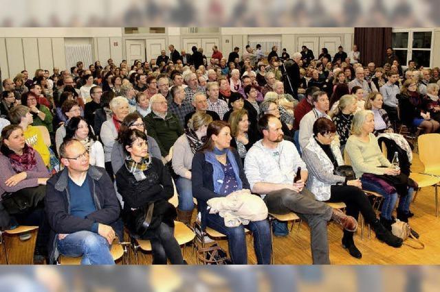 200 Bürger beim Kandidaten-Check