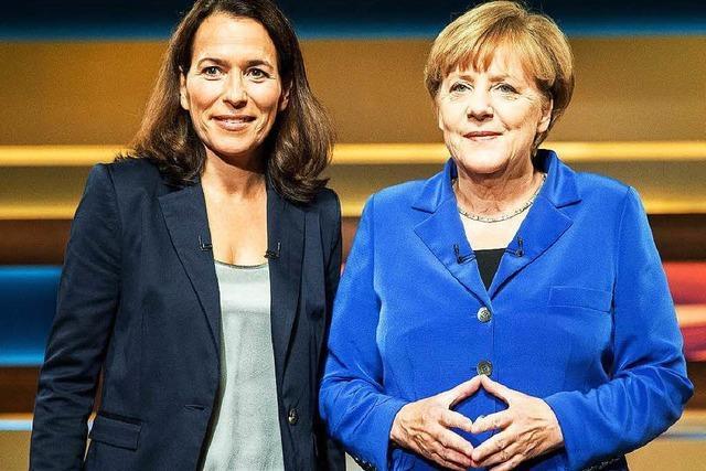 Merkel will Flüchtlingskurs in Talkshow erklären