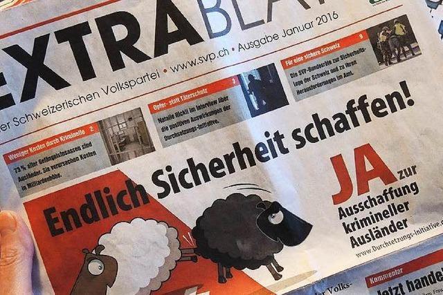 Nein zur Verschärfung des Ausländerrechts – Ja zur neue Gotthard-Röhre