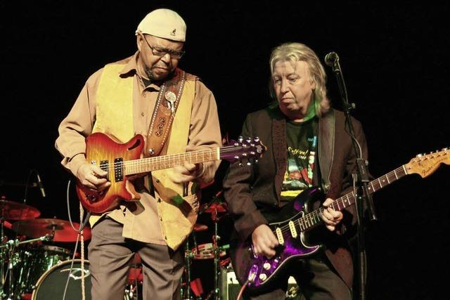 Larry Garner & Norman Beaker Band in Emmendingen