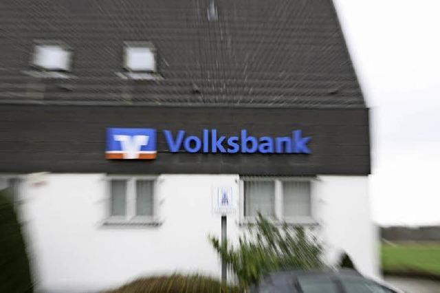 Ortsvorsteherin Frenk ist verärgert über die Volksbank- Schließung