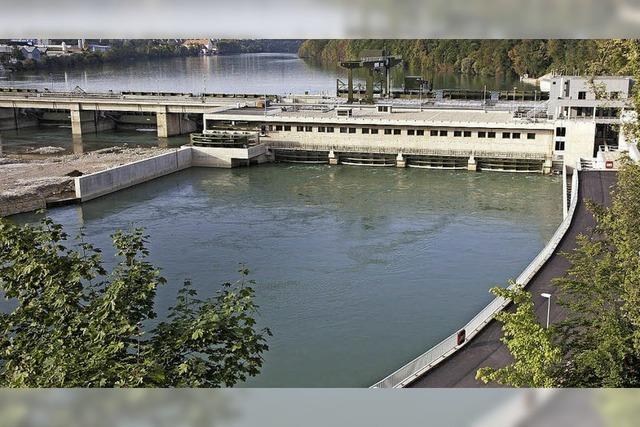 Führung im Wasserkraftwerk Rheinfelden