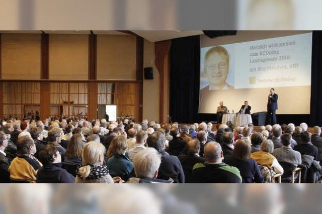 BZ-Dialog mit Jörg Meuthen