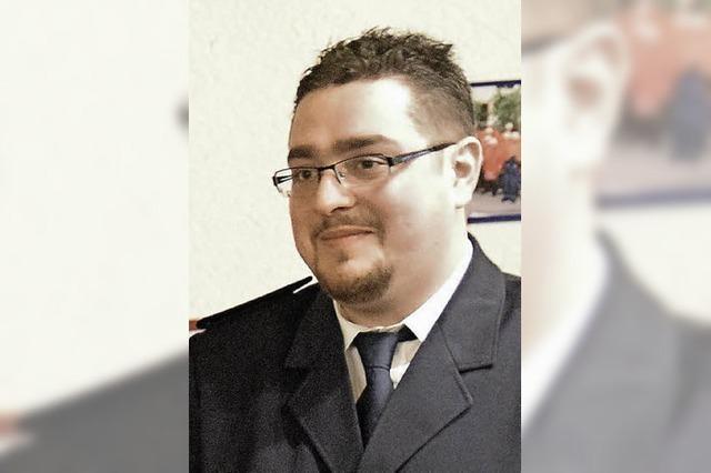 Dominik Kittler ist neuer Kommandant