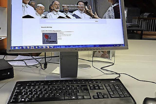 Männerchor ist jetzt online
