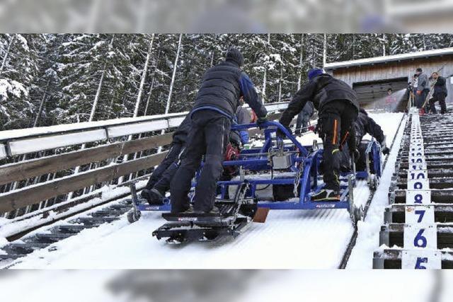 Blitzsaubere Spur für Neustadts Skisprung-Weltcup