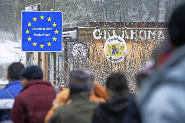 Bei der Bundespolizei in Rosenheim kommen kaum noch Flüchtlinge an