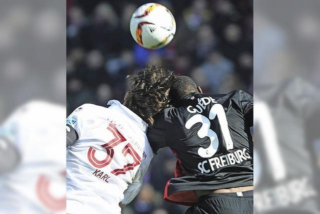 SC Freiburg lässt Kaiserslautern keine Chance