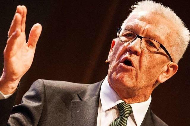 Kretschmann kündigt die Schaffung von Bürgerforen an