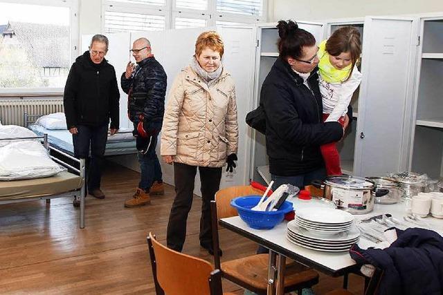 50 Flüchtlinge ziehen in eine ehemalige Grundschule