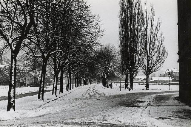 Die Geschichte der Hindenburgstraße reicht bis ins Mittelalter zurück