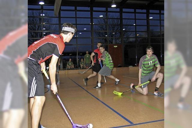 Karlsruhe siegt beim Floorball