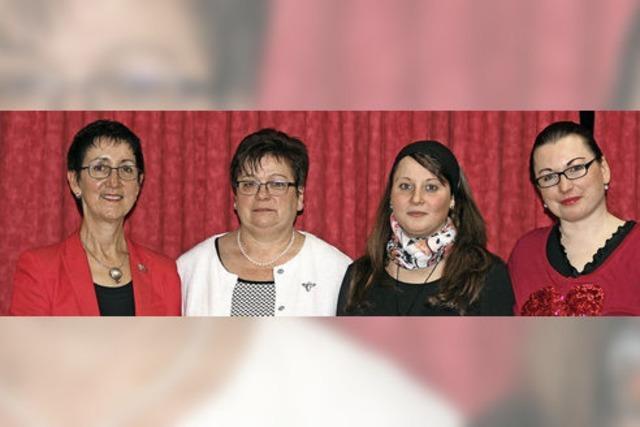 Kathrin Leininger gibt den Vorsitz ab