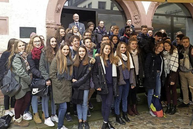 Schülerbegegnung am Kaiserstuhl