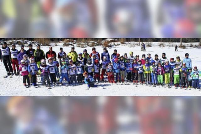 Die jüngsten Alpinen sind erst fünf Jahre alt