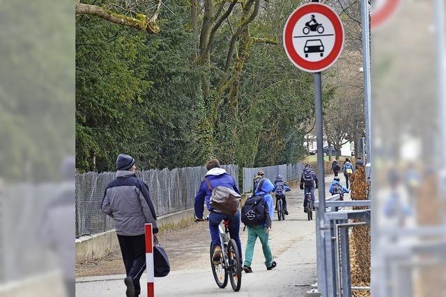 Fahrradstraße am Rosenfelspark soll saniert werden