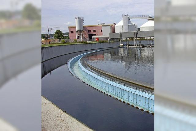 Wenig Wasser in den Becken
