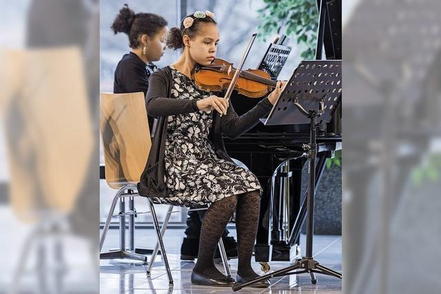 Mutige Musikerinnen und Musiker im