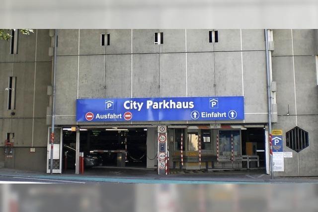 Parkhausbrücke zur Stadt wird gesperrt