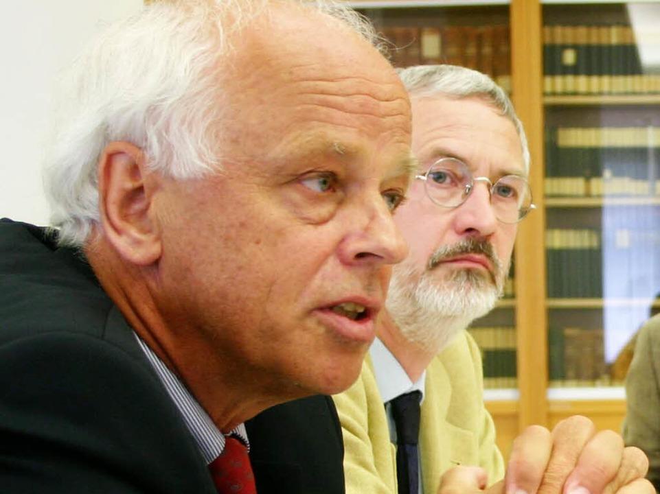 Hans-Hermann Dickhuth (links)  | Foto: Zurbonsen Karl-Heinz