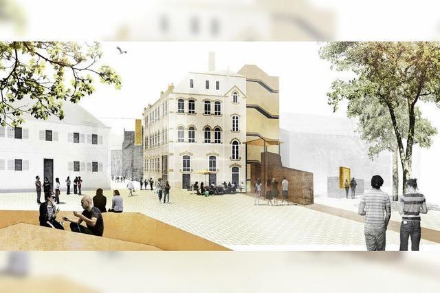 Stadt Lahr plant neue Plätze beim Museum und Storchenturm
