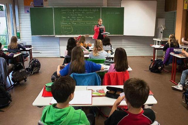 Umfrage unter Lehrkräften: Eine Vier für die Schulpolitik