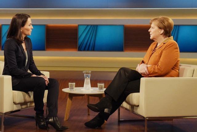 Die Kanzlerin bei Anne Will: Merkel erklärt und kämpft