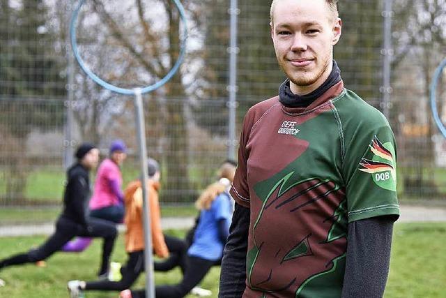 Adrian Schleeh stellt das deutsche Quidditch-Team zusammen