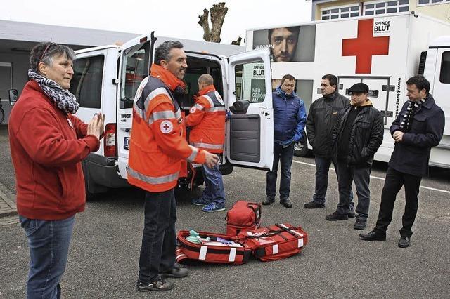Neues Fahrzeug für Sanitätsdienst