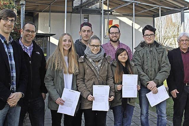 BZ-Projekt Wahl an Friesenheimer Schule